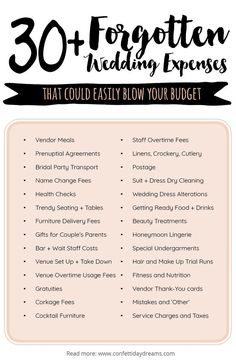 Important Wedding Costs You Might Have Overlooked! Wedding Planning Series - image for you Wedding Expenses, Wedding Costs, Budget Wedding, Plan Your Wedding, Wedding Tips, Wedding Day, Dream Wedding, Autumn Wedding, Wedding Dress