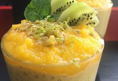 SANSkeuken—#veganbreakfast #veganontbijt Tropical chiapudding
