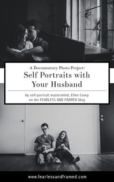 Photography tips | Learn how to master taking self portraits with your husband.
