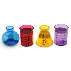 Chemistry Shot Glass Set-this board was originally for serious ideas to design our apartment but look at all this cool stuff I'm finding!