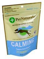 CALMING BONE-SHAPED CHEWS FOR DOGS - http://www.thepuppy.org/calming-bone-shaped-chews-for-dogs/