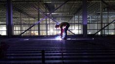 Jobsite welding image #12 #StudWelding http://www.studweldfast.com/atlanta-jobsite-stud-welding/