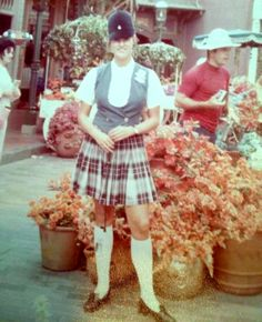 Tour Guide on Main St. 1970s