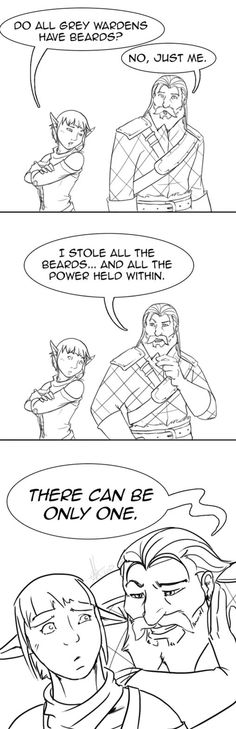 The truth behind all the missing Wardens. | Blackwall and Sera