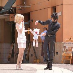"982 Likes, 4 Comments - Kawaii Neko (@kawaiiinekoo) on Instagram: ""Great cosplay #sunday #❤ #king #together #finalfantasy #funny #playstation #anime #ps4 #prompto…"""