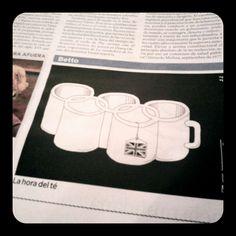 JJOO Londres 2012 - 'La hora del té' viñeta en El Espectador