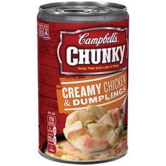 Campbell's Chunky Creamy Chicken & Dumplings Soup 18.8oz
