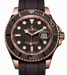 Rolex Oyster Perpetual Yacht-Master 40 Reference 116655 – Новая версия спортивных часов Ролекс | LuxuriousWatches.ru