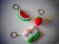 Keiring crochet keychain by wanting