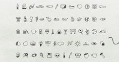 60 Everyday Mixed Vector Icons Pack - http://www.dawnbrushes.com/60-everyday-mixed-vector-icons-pack/