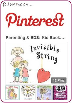 Click here for OREDS Parenting & EDS: Kids Books - for when a sibling or parent is ill with EDS / Ehlers-Danlos Syndrome.