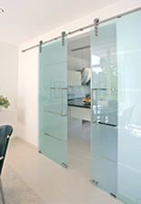 Sliding glass bathroom door door tracks by hafele for Door u value calculator