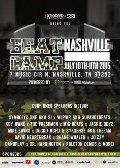 Beat Camp To Hold Weekend Seminar for Aspiring Music Professionals In Nashville, Songwriting, American Songwriter