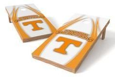 Tennessee Volunteers Single Cornhole Board - V