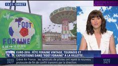 """Jusqu'au 10 juillet, le Parc de la Villette situé dans le XIXème arrondissement de Paris, accueille le festival """"Foot foraine""""."""