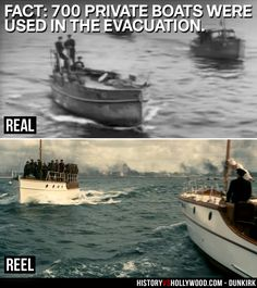 The Little Ships of Dunkirk were hundreds of private boats that assisted in the Dunkirk evacuation during WWII. They are depicted in the Christopher Nolan WWII movie Dunkirk. See more real vs. reel images: http://www.historyvshollywood.com/reelfaces/dunkirk/