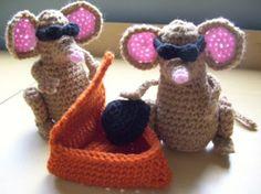 3 Blind Mice....PDF Pattern by KTBdesigns on Etsy, $6.00