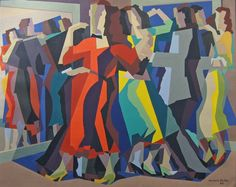 Kenneth Stubbs - The Dancers