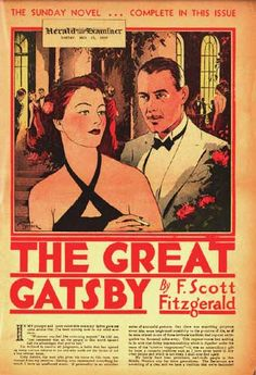 The Great Gatsby | Chicago Herald-Examiner (23 May 1937). A cut version of The Great Gatsby appeared in Sunday newspaper supplements.