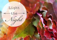 . . . light the night: diy lanterns