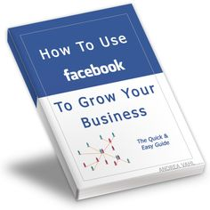 "How to Use Facebook to Grow Your Business  You need to be able to understand the fundamentals of how Facebook works before you can run.  Why use Facebook for business?  - How do I get signed up and what pitfalls do I avoid?  - What is the ""Wall"" and can I bang my head against it? (the answer is no, not after this book)  - Should I use a Fan Page or a Group and what's the difference?  http://andreavahl.com/products/how-to-use-facebook-to-grow-your-business"