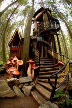 Ces cabanes spectaculaires perchées dans les arbres à travers le monde