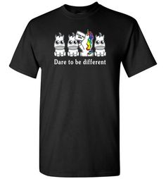 dare to be differentFind out more at https://www.anzstyle.com/products/dare-to-be-different #tee #tshirt #named tshirt #hobbie tshirts #dare to be different