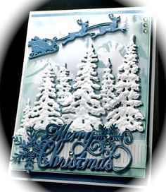 IC505, Christmas Scene by Cards_By_America - Cards and Paper Crafts at Splitcoaststampers