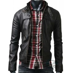 Peppery Black Button Pocket Slimfit Jacket