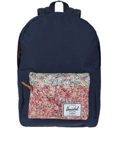 Herschel Navy Heritage Liberty Print Backpack | Liberty Print Bags by Herschel | Liberty.co.uk