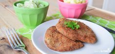 seitanovy rizek Seitan, Veggies, Vegetables, Vegetable Recipes