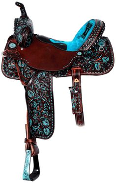 womens' saddle. Gorgeous color~