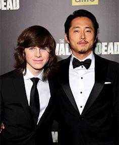 My goodness. Look at Steven's cheekbones!