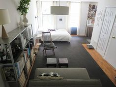 Small Space Lessons: Floorplan and Solutions from Laura's Living Better With Less