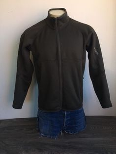 23e148908b915 ARCTERYX Fleece Jacket POLARTEC Brown Full Zip Sweater Layer Arc'teryx Men  Med #Arcteryx #Fleece