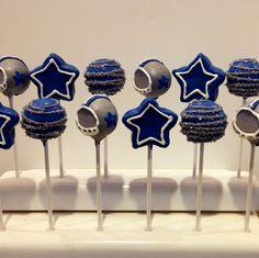 Dallas Cowboys Cake Pops