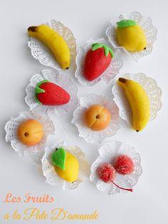 Algerian Almond Paste Fruits #recipe from culinarycoutureblog.com