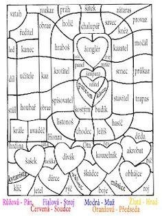 Učení s radostí: Barevná čeština aneb baví nás vybarvovat Nasa, Diagram, Education, Psychology, Onderwijs, Learning