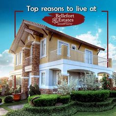 TOP REASONS TO LIVE AT BELLEFORT ESTATES