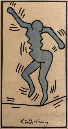 "artexpert: ""Untitled (ca. 1980-85) - Keith Haring """