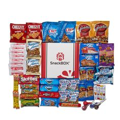 Care Package for College Students, Military, Birthday, Mother's Day, Father's Day or Back to School (50 Count) From Snack Box ... ** See this awesome image  : Fresh Groceries