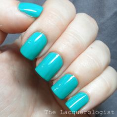 The Lacquerologist: Summer Polishes from Ruby Wing and Color Club: Swatches and Review!