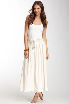Flouncy Maxi Skirt