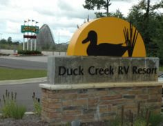 Great RV park for camping in western Michigan, Duck Creek RV Resort