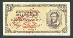 HUNGARY 1 000 000 Pengo 1946 VF Ovpt, DEBRECEN 1970  http://cgi.ebay.com/ws/eBayISAPI.dll?ViewItem&item=161207933589