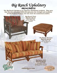 Rustic Furniture, Old Hickory Furniture