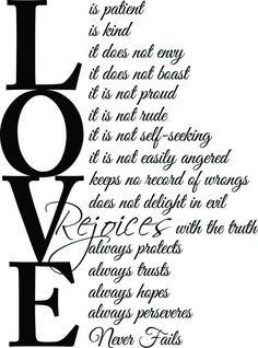 Love Is Patient Quote Gallery love is patient love is kind quote with beautiful images Love Is Patient Quote. Here is Love Is Patient Quote Gallery for you. Love Is Patient Quote quotes about love love is patient love is kind quote. Wall Quotes, Bible Quotes, Me Quotes, Qoutes, Love Does Not Envy, Love Never Fails, Kindness Quotes, Love Is Patient, Family Quotes