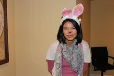 Halloween Party 2012: Chicago class student as a 'regular' bunny