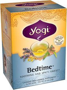 يوغي الشاي العشبية، قبل النوم، وسائد هوائية 16 الشاي