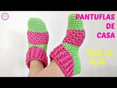 You can learn how easy to crochet beautiful slipper socks. Wonderful gift for your friends and families. Make their wardrobe more creative with this cutest socks. Keep warm and comfortable with this useful socks. Easy Crochet Slippers, Crochet Slipper Pattern, Crochet Socks, Crochet Art, Love Crochet, Knitting Videos, Crochet Videos, Crochet Designs, Crochet Patterns